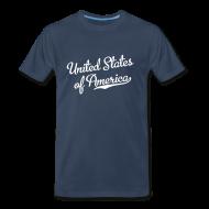 T-Shirts ~ Men's Premium T-Shirt ~ United States T-Shirt