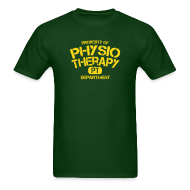 T-Shirts ~ Men's T-Shirt ~ Physiotherapy Departement PT