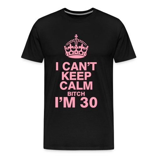 Keep Calm BDAY - Men's Premium T-Shirt