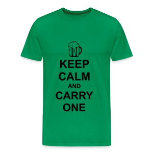 Keep Calm and Carry One - Men's Premium T-Shirt