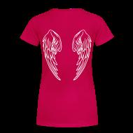Women's T-Shirts ~ Women's Premium T-Shirt ~ Plus Size CNAngel Tee