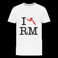 T-Shirts ~ Men's Premium T-Shirt ~ I Heart Running Man
