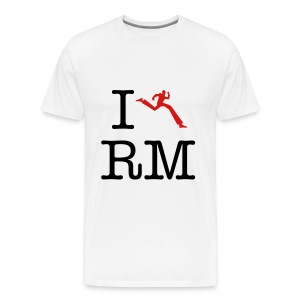 I Heart Running Man - Men's Premium T-Shirt