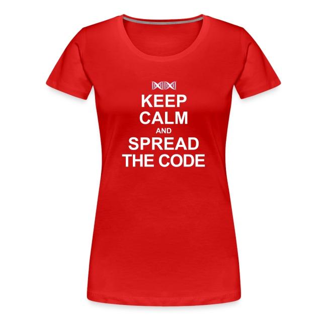 """Spread the code""  (females)"