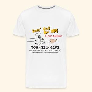 Jones Good Ass T-shirt - Napkin White - Men's Premium T-Shirt
