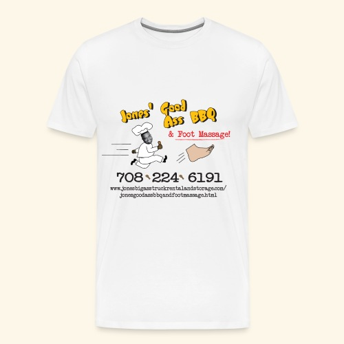 Jones Good Ass T-shirt - Napkin White - Men's Premium T-Shirt