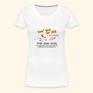 Jones BBQ Shirt - For the Ladies - Women's Premium T-Shirt