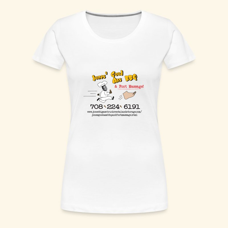 Jones BBQ Shirt - For the Ladies - Women's Premium T-Shirt