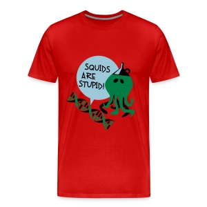 Squids (male, heavy weight) - Men's Premium T-Shirt