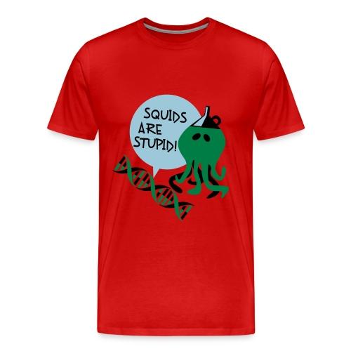 Squids (male, heavy weight) - Men's Premium T-Shirt