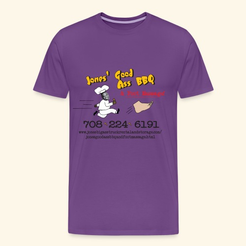 Jones Good Ass T-shirt - Purple Drank Edition - Men's Premium T-Shirt
