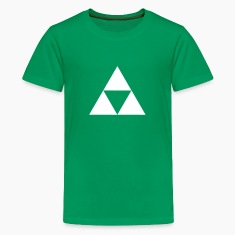 three triangle Kids' Shirts