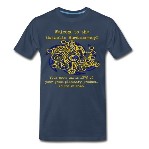 Bureaucracy (male, heavy) - Men's Premium T-Shirt