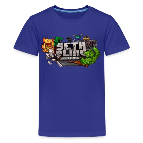 SethBling Brawl (Youth) - Kids' Premium T-Shirt