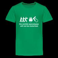 Kids' Shirts ~ Kids' Premium T-Shirt ~ Kids - Family Xtracycle Zombie
