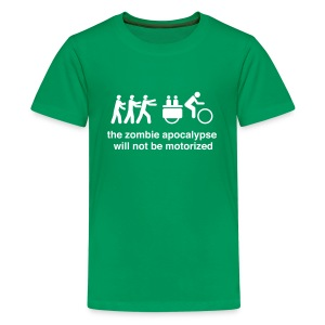 Kids - Family Xtracycle Zombie  - Kids' Premium T-Shirt