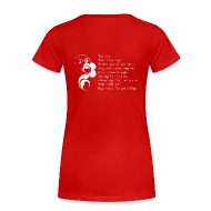 T-Shirts ~ Women's Premium T-Shirt ~ DailyStrength Winter Affirmation Contest 2013 - Women's