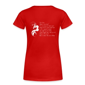 DailyStrength Winter Affirmation Contest 2013 - Women's - Women's Premium T-Shirt