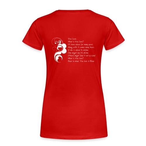 DailyStrength Winter Affirmation Contest 2013 - Women's - Women's Premium T-Shirt