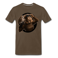 T-Shirts ~ Men's Premium T-Shirt ~ Mens: Aviator Sepia