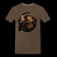 T-Shirts ~ Men's Premium T-Shirt ~ Mens: Aviator Sepia