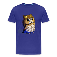 T-Shirts ~ Men's Premium T-Shirt ~ Mens: Little Owl