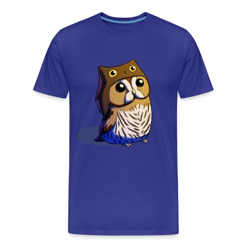 Mens: Little Owl - Men's Premium T-Shirt