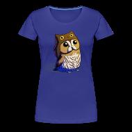 Women's T-Shirts ~ Women's Premium T-Shirt ~ Ladies: Little Owl