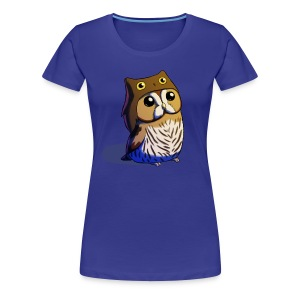 Ladies: Little Owl - Women's Premium T-Shirt