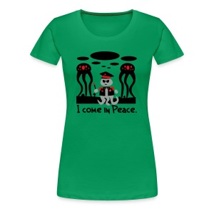 Alien General (female, heavy) - Women's Premium T-Shirt