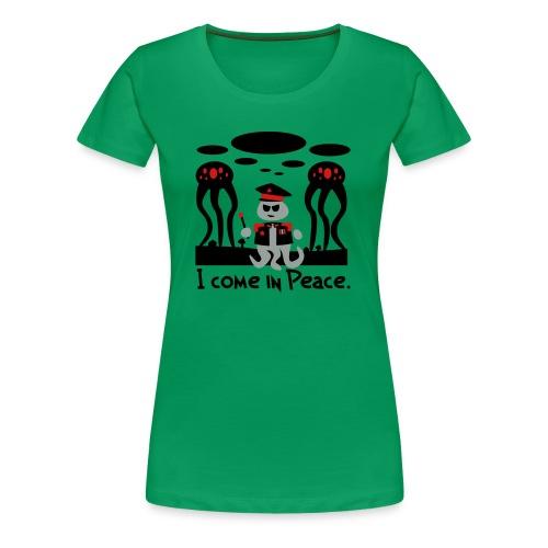 Alien General (female, heavy) - Women's Premium T-Shirt