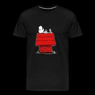 T-Shirts ~ Men's Premium T-Shirt ~ Dog Bones on a Dog House
