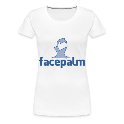 Facepalm - Women's Premium T-Shirt