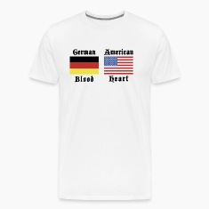 German Blood American Heart T-Shirt