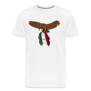 Viva Mexico (Mexico Lives) (Plus Size) - Men's Premium T-Shirt