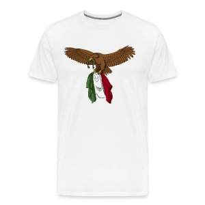 Viva Mexico (Mexico Lives) (Plus Size) - Men's Premium T-Shirt