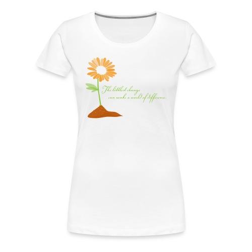 World of Difference - Women's Premium T-Shirt