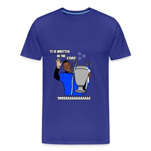 Drogbaaa - It Is Written In The Stars - Mens T-Shirt - Men's Premium T-Shirt