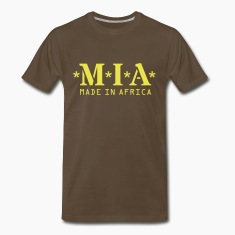M.I.A. Made In Africa T-Shirts
