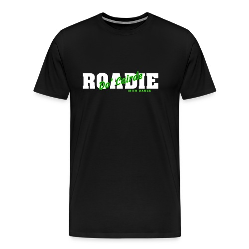 Do Cairde Roadie SS T-Shirt - Mens Black - Men's Premium T-Shirt