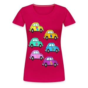 Luv Bugs lady's plus size tshirt - Women's Premium T-Shirt