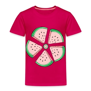 watermelon flower toddler tshirt - Toddler Premium T-Shirt