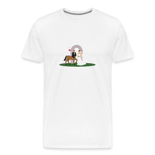 Centaur Wedding - Men's Premium T-Shirt