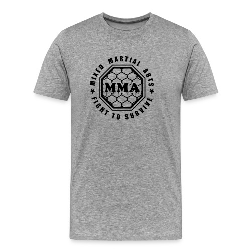 MMA - Fight to Survive - Men's Premium T-Shirt