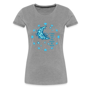 blue moon woman's tshirt - Women's Premium T-Shirt