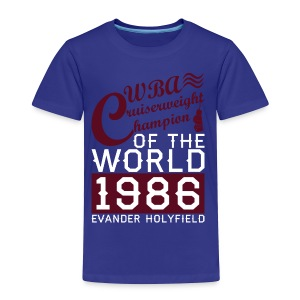 1986 WBA Cruiserweight Champion - Toddler Premium T-Shirt