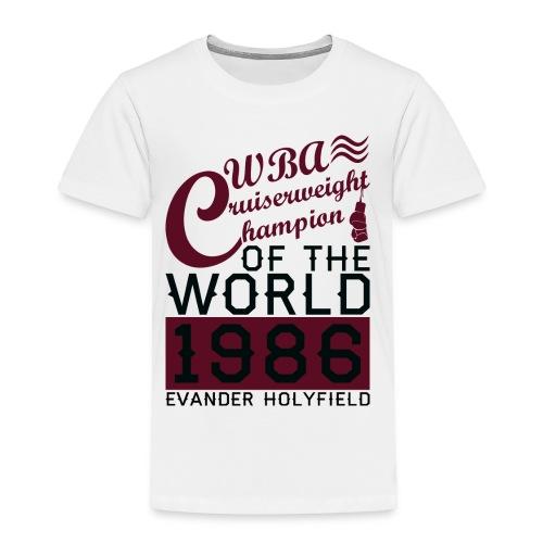 1986 WBA Cruiserweight Champion - Toddler Premium T-Shirt