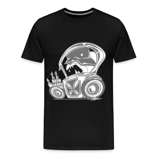 3 & 4 XL Big Daddy Show Car - Men's Premium T-Shirt