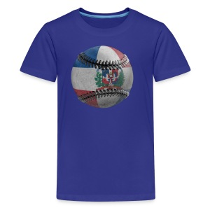 Kids Dominican Baseball - Kids' Premium T-Shirt