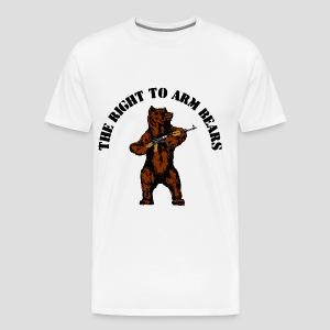 The right to arm bears - Men's Premium T-Shirt